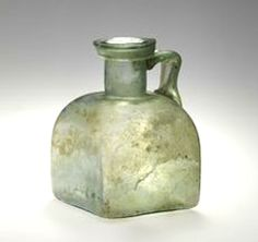 Roman Imperial glass Jug. 1st–2nd century A.D| Princeton University Art Collection. y1946-253