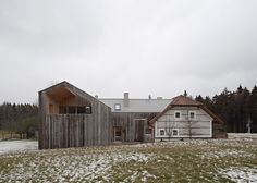 Traditional farmhouse in Austria updated with contemporary extension