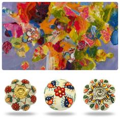 Every mood tells a story! So much fun matching our ceramic and glass vintage cabinet knobs to the images Prices start from and amazing £1.95 / $2.85 #ceramicknobs #upcycle#upcycling #doorknobs #glass knobs
