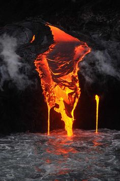 December 2012 Lava flow, Kilauea, Big Island of Hawaii - changes all the time