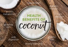 So many reasons to eat this....and we didn't even have to say how DELICIOUS our coconut butter is!!