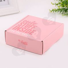 Double Side Printing Corrugated Box For Party Gift- Shanghai BPS Team