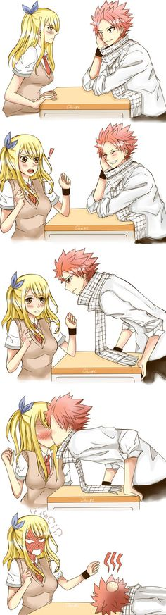Nalu Fanarts by chiire on DeviantArt