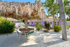 Tiki and Courtyard