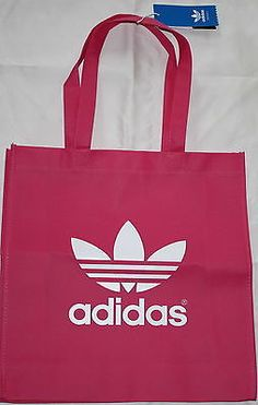 Adidas AC Trefoil BAG Shopper BAG Black Gold Blue Pink Green Pink Aubergine