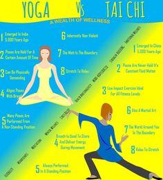 Yoga Vs Tai Chi   | #PadreMedium