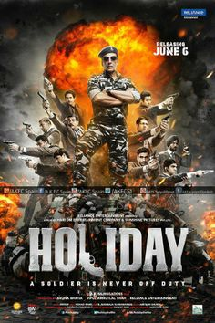 Akshay Kumar 'Holiday' posters have an international touch