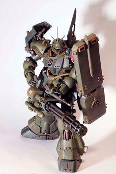 [ Custom Painted ] Geara Doga (Custom Build by Ngo Phong) Space Warfare, Gundam Toys, Mecha Suit, Gundam Mobile Suit, Arte Robot, Gundam Custom Build, Spiderman Art, Robot Design, Thing 1