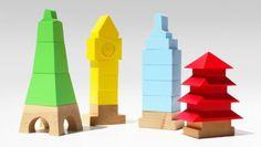 Juegos de madera educativos