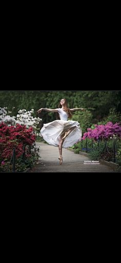 """The world laughs in flowers, Ralph Waldo Emerson. PC to Jordan Matter from his newly released book, """"Born to Dance."""