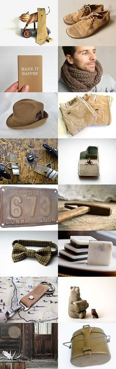 Homespun Gift Guide -For Men- by Ayşegül Ç. on Etsy--Pinned with TreasuryPin.com
