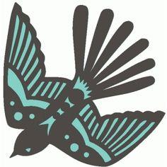 Silhouette Design Store - View Design #86107: pretty swallow bird silhouette