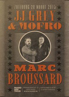JJ Grey & Mofro en Marc Broussard - 28 maart: http://www.paard.nl/event/3875/JJ-GREY-MOFRO-EN-MARC-BROUSSARD