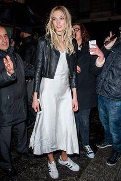 Gigi hadid sembrava cosi 'elegante in un completo bianco e adidas