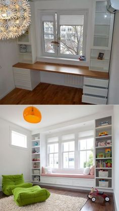 Use the wall at the window or door (26 example ...  #Diywohnen #Door #example #Wall #window