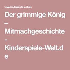 Der grimmige König – Mitmachgeschichte - Kinderspiele-Welt.de
