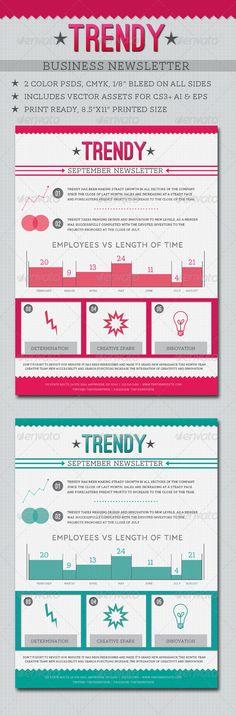 Trendy Business Newsletter
