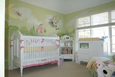 Storybook Theme Baby Nursery With Our Celine Crib And Changer Laylagrayce Newportcottages