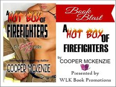 #SignedBookGiveaway #BookBlast #AHotBoxOfFirefighters A #ContemporaryErotic Box Set by International Bestselling Author #CooperMcKenzie  #Blurb Six blazing hot stories of firefighters and the women who start and put out sexual blazes with them. Lace on Clay: When Lace and Clay connect their creative imaginations spark an intensely passionate blaze. Burn for Me: They turn up the heat and experiment to find the answer to which sense is most closely linked with desire. Wildfire: The morning…