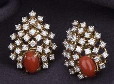 Gold Earrings Designs, Diamond Jewellery, Designer Earrings, Beaded Bracelets, Jewelry, Fashion, Jewels, Moda, Diamond Jewelry