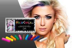 I just bought 12 Colourful Hair Chalks (now £5) via @wowcher