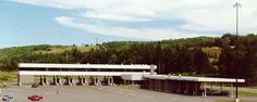 Houlton Maine US Port Of Entry, Border Crossing.