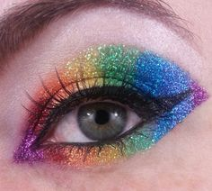 Pin for Later: 31 Real Girl Ways to Rock Glitter on New Year's Eve Glitter Pride