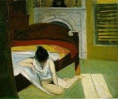 Summer Interior by Edward Hopper, 1909