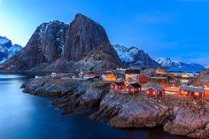 Rorbuer, Lofoten Islands, Norway