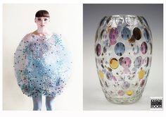 Como si de burbujas se tratara, su formas redondeada y su textura . Este diseño tan peculiar nos evoca una de nuestras piezas favoritas, un jarrón Mid Century que podrás encontrar en nuestra tienda de Barcelona . www.retrospectroom.co.uk