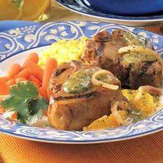 Southwestern Lamb Chops