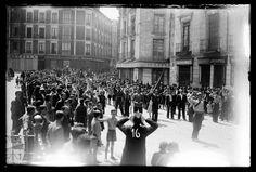 Spain - 1936. - GC - Represión franquista en Valladolid. 1.mayo 1936.