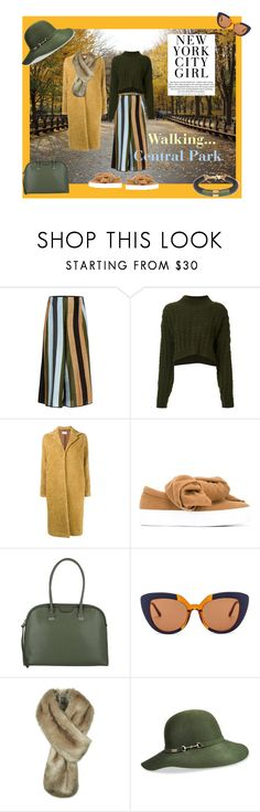 """""""Fall in Central Park"""" by geonell ❤ liked on Polyvore featuring Circus Hotel, Vivienne Westwood Anglomania, Maryam Nassir Zadeh, Joshua's, Coccinelle, Marni, Helen Moore, Betmar, Lili Palouli and Fall"""