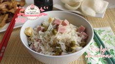 Riso light alla cantonese - ricetta orientale (290 calorie)