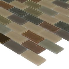 DIY Tile Backsplash Kit 15Ft Tuscany Tuscany Glass mosaic tiles