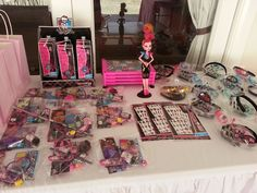 Monster High Birthday Party Ideas | Photo 1 of 29 | Catch My Party