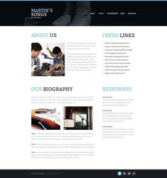 Super isn't it??   Music Band Responsive Website Template CLICK HERE! live demo  http://cattemplate.com/template/?go=2ipRL27
