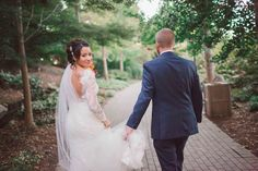 """{    LEWIS GINTER BOTANICAL GARDENS WEDDING 