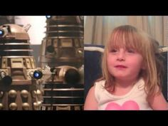 Doctor Who's Asylum of the Daleks recapped by a 4 yr old Whovian! this is THE CUTEST THING I HAVE EVER SEEN AHHHH. Yep. Definitely my child one day.