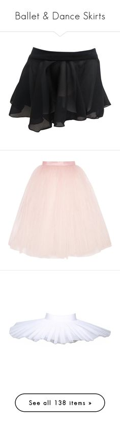 """Ballet & Dance Skirts"" by gymholic ❤ liked on Polyvore featuring dance, ballet, skirts, bottoms, pink, tulle skirt, pink tulle skirt, ballet beautiful, layered tulle skirt and layered skirt"