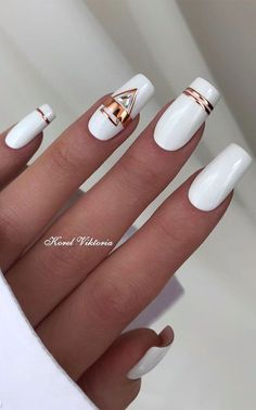 Chic Nails, Stylish Nails, Trendy Nails, Pretty Nail Art, Beautiful Nail Designs, Elegant Nail Art, Elegant Nail Designs, Best Acrylic Nails, Acrylic Nail Designs