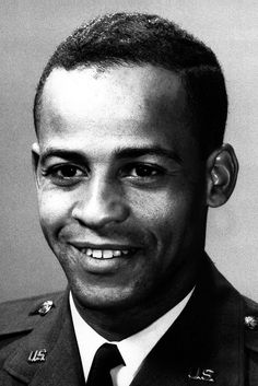 Ed Dwight, first African-American astronaut, chosen by the Kennedy Administration. He never made it  into space, but became a world-renowned sculpture.