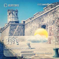 Buenos días a todos feliz #martes nos pinta hoy para ser un día muy #caluroso http://www.facebook.com/TurismoEnVeracruzAventura