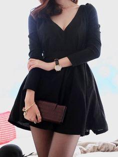 Extraordinary V Neck Casual-dress Casual Dresses from fashionmia.com