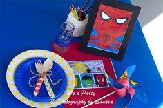 Fiesta de cumpleaños de Los Vengadores - Inspiración e ideas para fiestas de cumpleaños - Fiestas de cumple para niños - Charhadas.com