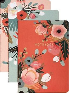 Love these cute, little notebooks! Perfect for your office or as a gift! #prettylittlethings #organize
