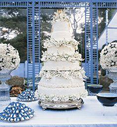 Wedding cake art - bolo para casamento
