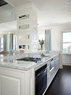 Transitional Cabinetry Glamorous Design, Pictures, Remodel, Decor and Ideas