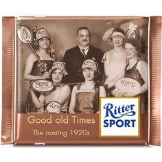 Ritter Sport Fake Sorte - Retro - the roaring 1920s