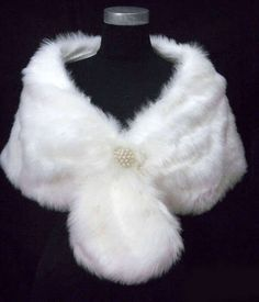 wrap with a broach and tails